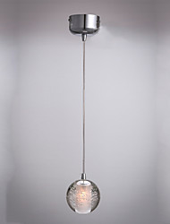 Lampe suspendue - Contemporain - avec LED - Cristal