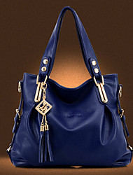 Women PU Casual / Event/Party / Outdoor / Office & Career / Shopping Shoulder Bag / Tote / Clutch Blue / Brown / Black