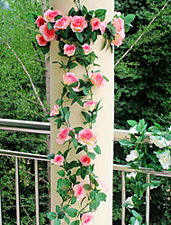 Пластик Розы Искусственные Цветы