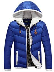 Men's Hoodie Coats & Jackets , Cotton Long Sleeve Casual Fashion Winter GuMen