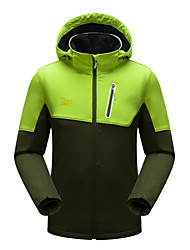 Sports® Cycling Jacket Men's Long Sleeve Waterproof / Breathable / Windproof / Ultraviolet Resistant / Insulated / Front Zipper / Wearable