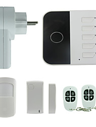 Phone Control Dual Network WIFI GSM Home Security Alarm System Usage Smart Wifi Alarm System