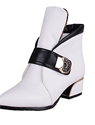 Women's Shoes  Chunky Heel Pointed Toe/Closed Toe Boots