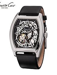 Mens Watch Waterproof Hollow Automatic Watch Belt Barrel Metrosexual Watch