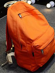 Unisexe Toile Décontracté Sac à Dos Rose / Jaune / Orange / Marron