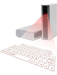 iCyberry Wireless Laser Bluetooth Projection Virtual Keyboard Wireless Keyboard With 5200mAh Power Bank