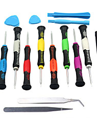 16 in 1 Repair Tool Opening Kit Disassemble Screwdrivers For iPhone Tablet PC/PDA/ Mobile Cell Phone Versatile