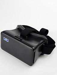 cabeza de cartón de montaje de realidad virtual vidrios video 3d de plástico para ios android 5.5-6.3inch teléfonos inteligentes