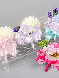 Hochzeitsblumen Freigeformt Rosen Knopflochblumen Hochzeit / Partei / Abend Satin / Elastischer Satin
