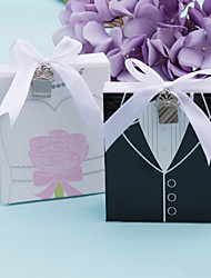 Mini Bride And Groom Photo Album Favor