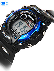 Men's Watch Digital Sport Watch LED / Chronograph / Water Resistant/Water Proof / Sport Watch PU Band Cool Watch Unique Watch