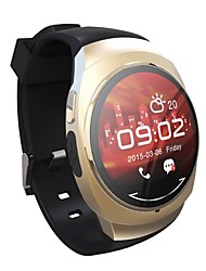 CHR Wearable Smartwatch, Camera Message Media Control/Hands Free Calls/Sleep Tracker/Pedometer/Android IOS Smartphone