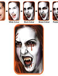 halloween compõem rosto kit de pintura zombie