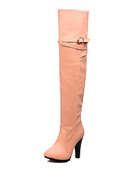 Women's Shoes Stiletto Heel Round Toe Over-The-Knee Boots More Colors available