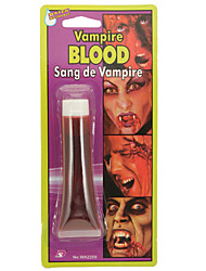 Halloween froid un vampire lèvre de faux sang peinture de visage de sirop de sang