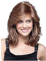 Charming European Lady Woman 's Synthetic Wigs
