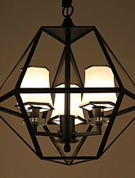 luces colgantes Ecolight ™ / 3 luces / país sala de estar / estudio / sala de entrada / pasillo / al aire libre de metal