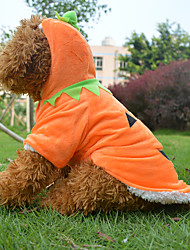 Dog Costume / Coat / Outfits Yellow Dog Clothes Spring/Fall Cartoon Cosplay / Halloween