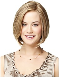 Beautiful Fashion Blonde Color Short Straight Wig