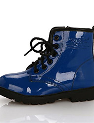 Boys' Shoes Casual Leather Boots Black / Blue / Yellow