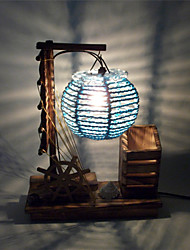 Retro Creative Table Lamp Home Decoration Crafts Gifts Personality Bedroom Bedside Decoration