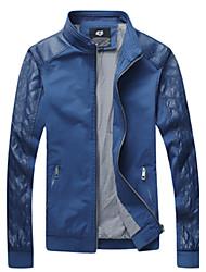 Повседневный - MEN - Пальто и жакеты ( Хлопок Подставка - Длинный рукав