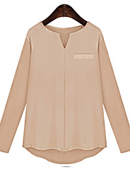 Women's Solid  Blouse(cotton)