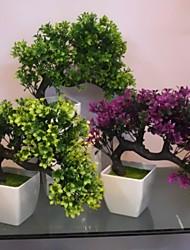 Polyester / Plastique Plantes Fleurs artificielles