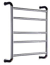 HZ®Bathroom Shelves / Towel Warmer , Contemporary Mirror Polished Wall Mounted HZ-907