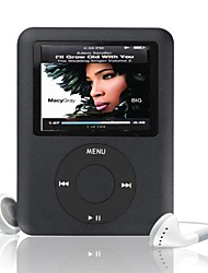 "mp3 4g / 8g / 16g de 1,8 ""LCD media filme de videogame rádio FM geração 3th mp3 player"