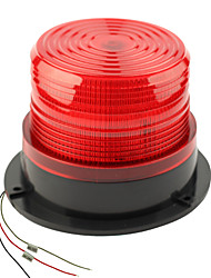DearRoad DC12/24V High Power Car Magnetic Warning Flash Beacon Strobe Emergency Light Orange/Red