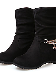 Women's Shoes Synthetic Flat Heel Snow Boots / Riding Boots / Fashion Boots Flats / Boots Outdoor