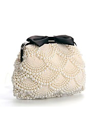 Imitation Pearl Wedding/Casual/Day Clutches Evening Handbags/Cross-Body bags/Shoulder Bags with Pearl
