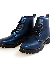 Women's Shoes Snow Boots / Fashion Boots / Motorcycle Boots / Round Toe Boots Outdoor / CasualBlue / Brown / Green