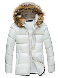 Yana Women'S Hooded Padded Winter Big Yards Short Paragraph Thick Fur Collar Jacket
