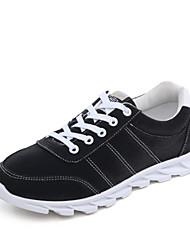 Da uomo-Sneakers-Casual SportivoPiatto-Scamosciato-Nero Blu Grigio