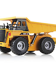 Remote Control Truck Dump Truck Alloy Version Dumper Truck Charging Remote Control All-wheel-drive Children's Toy Car