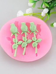 Flower Fondant Cake Cake Chocolate Silicone Molds,Decoration Tools Bakeware