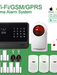 GS-G90B Word Menu GSM+WIFI Alarm Aystem Support IP Camera ,Smart Home Accessory Gas Sensor