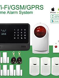 GS-g90b меню слово GSM + WiFi сигнал aystem поддержка IP-камера, датчик умный дом аксессуар газа