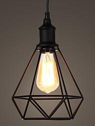 40W Lámparas Colgantes ,  Cosecha / Campestre Galvanizado Característica for Mini Estilo MetalSala de estar / Dormitorio / Comedor /