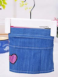 Cat / Dog Pants Blue Dog Clothes Spring/Fall Jeans / Hearts Wedding / Cosplay