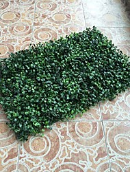 1pc/set Plastic Plants Green Aglaia Lawn for Home Decor
