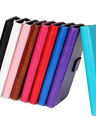 Para iPhone 8 iPhone 8 Plus Funda iPhone 5 Carcasa Funda Cartera Soporte de Coche con Soporte Flip Cuerpo Entero Funda Color sólido Dura
