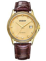 Vodoy®Men's Wrist Watch  Belt Water Resistant Mechanical Watch