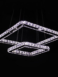 UMEI™ 2 Modern/Contemporary Crystal / LED Metal Pendant Lights