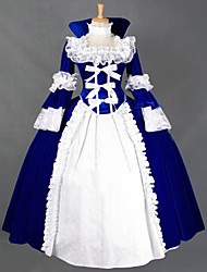 Steampunk®Marie Antoinette Period Dress Long Vintage Prom Dress