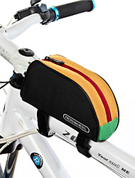 2015 Newest 1L Outdoor Mountain Bicycle Cycling Frame Front Top PVC Tube Bag Bike Pouch