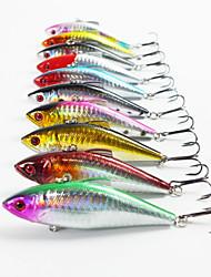 """1 pcs Angelköder kleiner Fisch Verschiedene Farben 12g g/7/16 Unze mm/3-5/16"""" Zoll,Kunststoff Spinnfischen"""