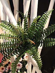 """22.05"""" Artificial Plant  Extra Large Fern Leaf 1 Bunch For Plant Wall and Decor"""